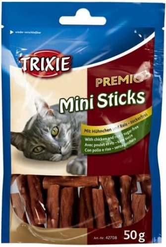 Premio Mini Sticks, poulet/riz