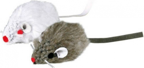 Souris peluche