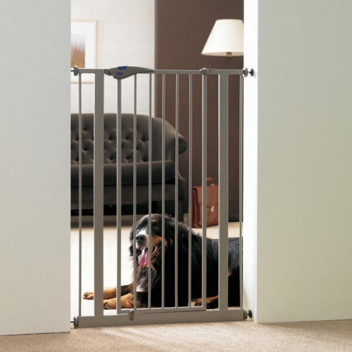 Barriere pour chien dog barriere sp ciale grands chiens for Barriere de securite pour escalier helicoidale