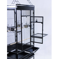 YOUYOU Cage for Medium Sized Parrots and Large Parakeets (2)