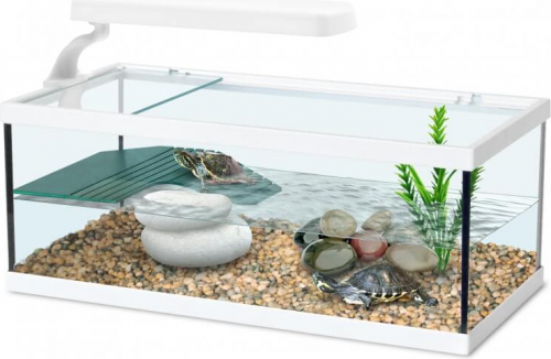 aquarium tortum sans filtre blanc terrarium et meuble. Black Bedroom Furniture Sets. Home Design Ideas