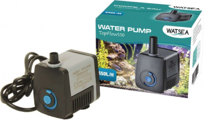 TOP FLOW pump with variable flow rate of 100 to 300 L / h