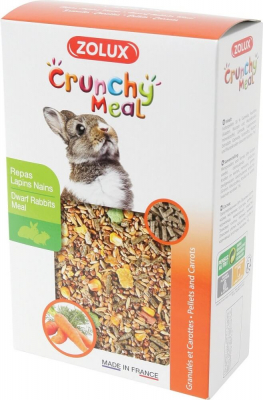 Crunchy Meal repas complet pour lapins nains
