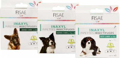 Pipette Insectifuge chien FISAE INAXYL