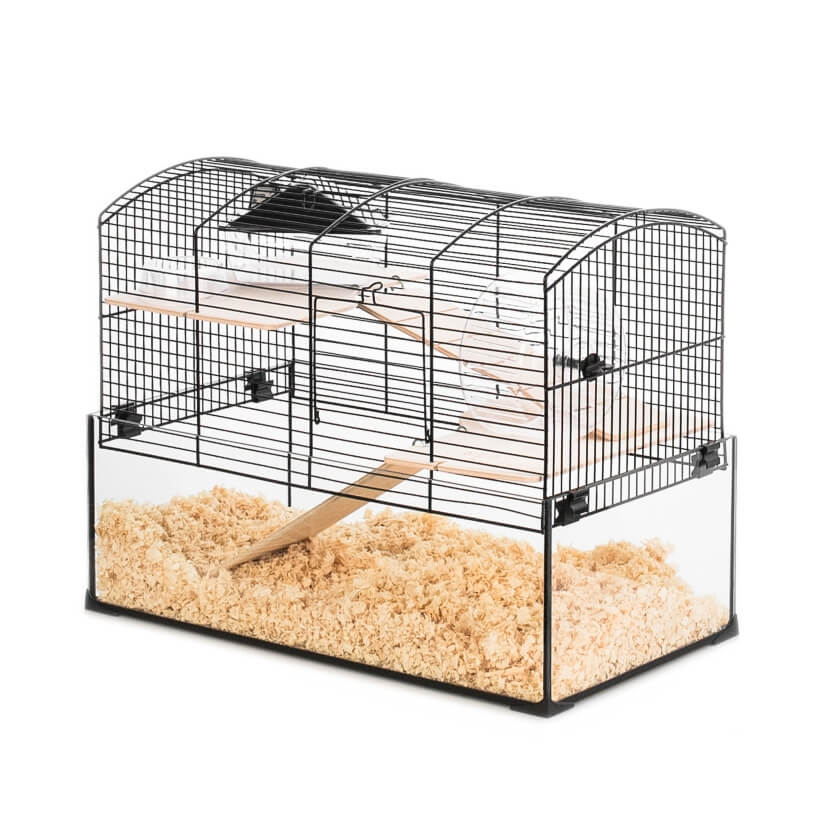 cage neo panas pour hamster et petit rongeur cage petit. Black Bedroom Furniture Sets. Home Design Ideas