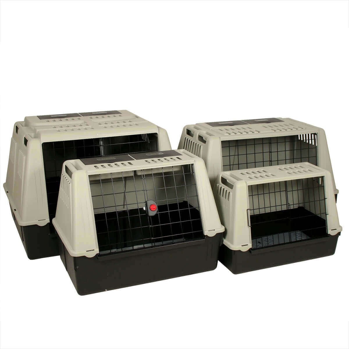 cage de transport chien atlas car pour voiture cage de. Black Bedroom Furniture Sets. Home Design Ideas