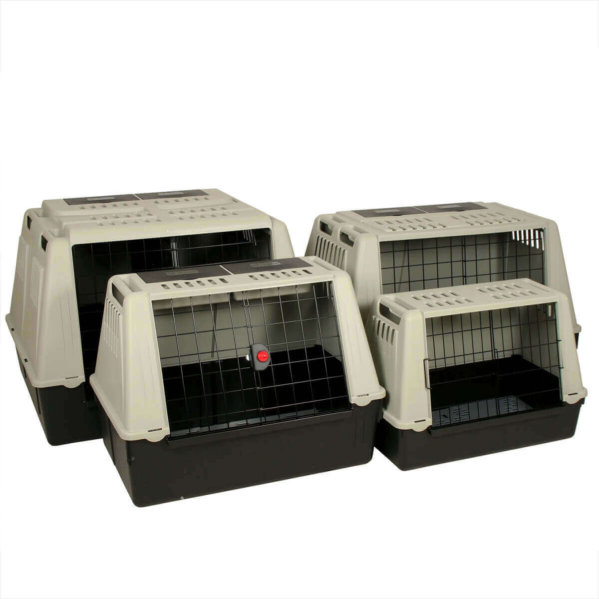 cage de transport chien atlas car pour voiture cage de transport. Black Bedroom Furniture Sets. Home Design Ideas