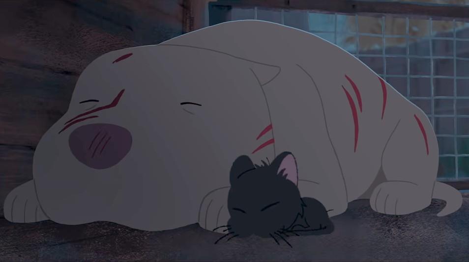 Kitbull de Pixar : la belle rencontre entre un chaton errant et un pitbull maltraité