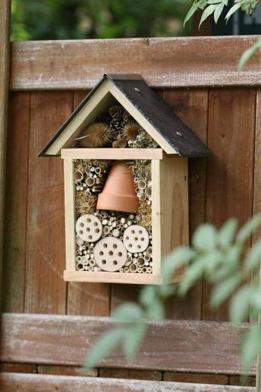 Atelier DIY : 7 idées pour fabriquer un hôtel à insectes