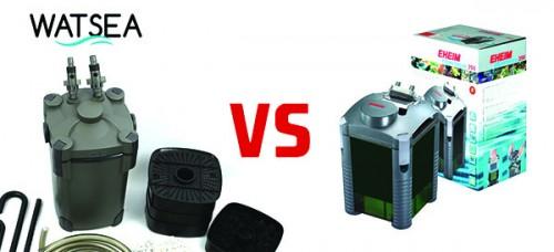 Filtration aquarium : Watsea power 800 vs eheim experience 150