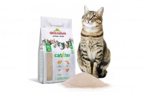 Nouveauté : la litière pour chat Cat Litter de Almo Nature