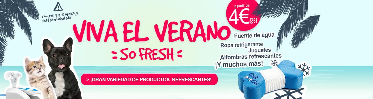 ¡Gran variedad de productos  refrescantes!
