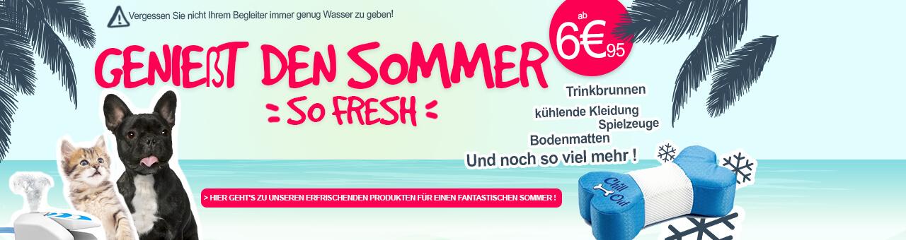 Hier geht's zu unseren erfrischenden Produkten für einen fantastischen Sommer