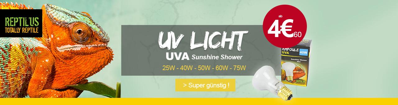 Tageslichtlampe E27 Sunshine Shower UVA