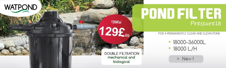 Pond filter PRESSURE 18000