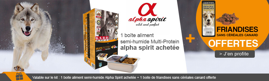 Patée alpha spirit