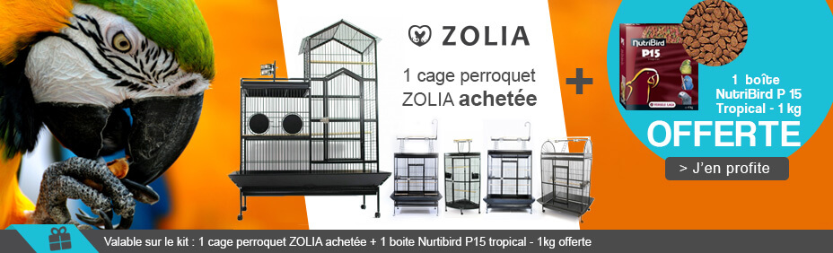 Cages perroquets Zolia