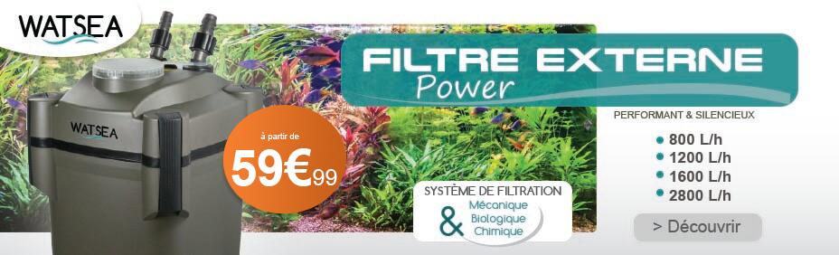 filtre externe watsea power