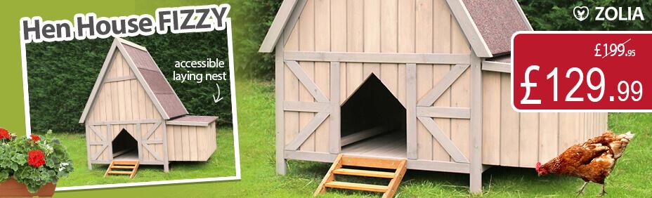 Fizzy hen house
