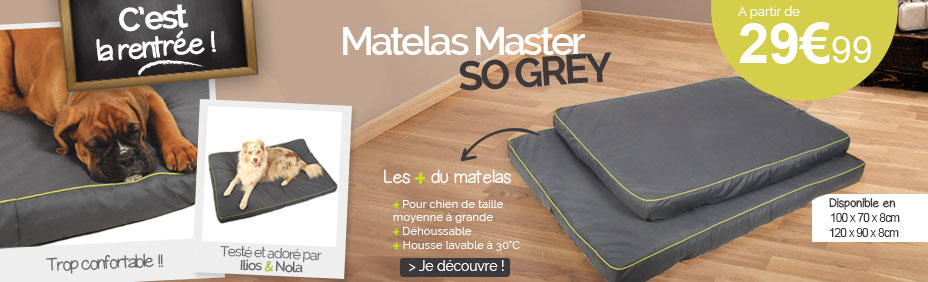 Matelas so grey