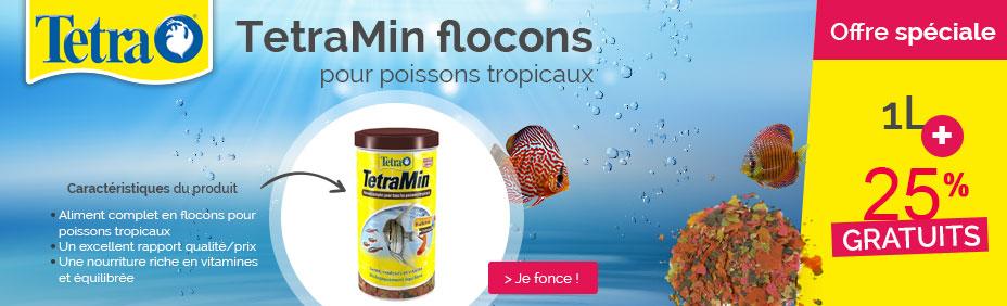 TetraMin flocons 1L+25%