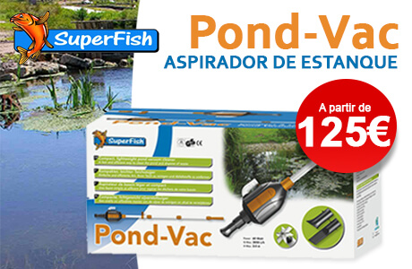 Aspirador de estanque Pond-Vac