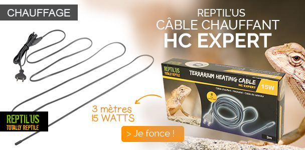 Cable chauffant HC expert 15w