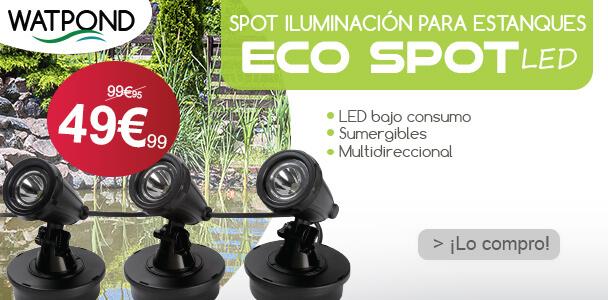 Spot iluminación estanque ECOSPOT LED
