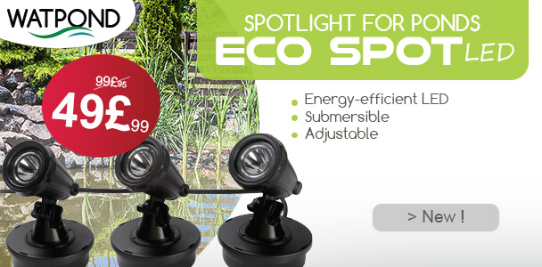 ECOSPOT LED (x3) Led light set pond and garden
