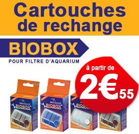 Cartouches de rechange Biobox