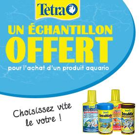 Echantillon Tetra offert
