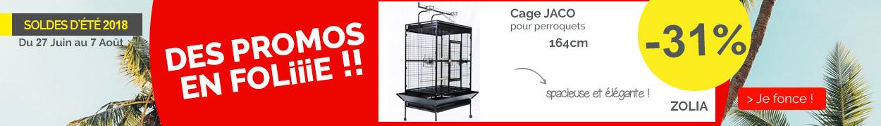 Cage ZOLIA JACO pour perroquet