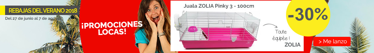 Jaula ZOLIA Pinky 3 100 cm