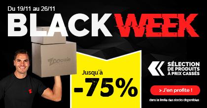 Black Week chez Zoomalia