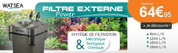 Filtre externe watsea