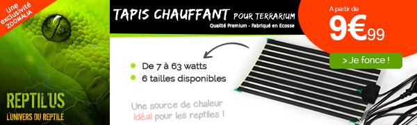 Tapis chauffant