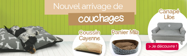 Arrivage couchage