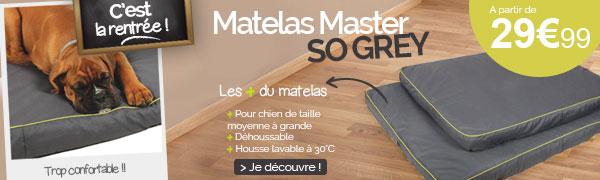 Matelas Master SO GREY