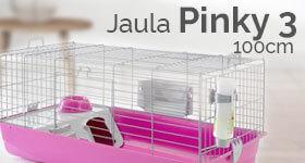 Jaula ZOLIA Pinky 3 100 cm Edición Fucsia