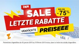 Der Sale Letzte Rabatte