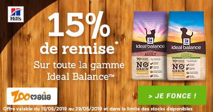 -15% sur Ideal Balance