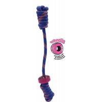 Seilspielzeug für Hunde dunkelblau 40 cm Tirol Wheelies