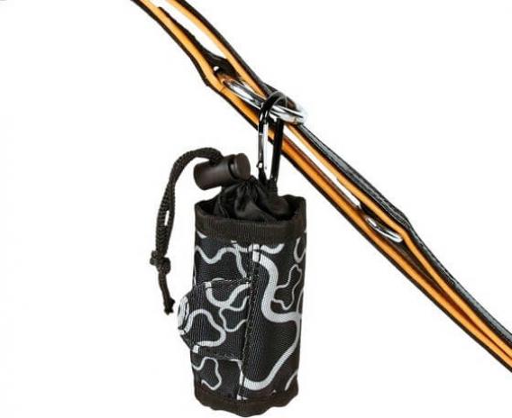 Distributeur de sacs avec cordon coulissant, nylon