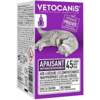 Recharge pour Diffuseur Anti-Stress pour Chat Vetocanis
