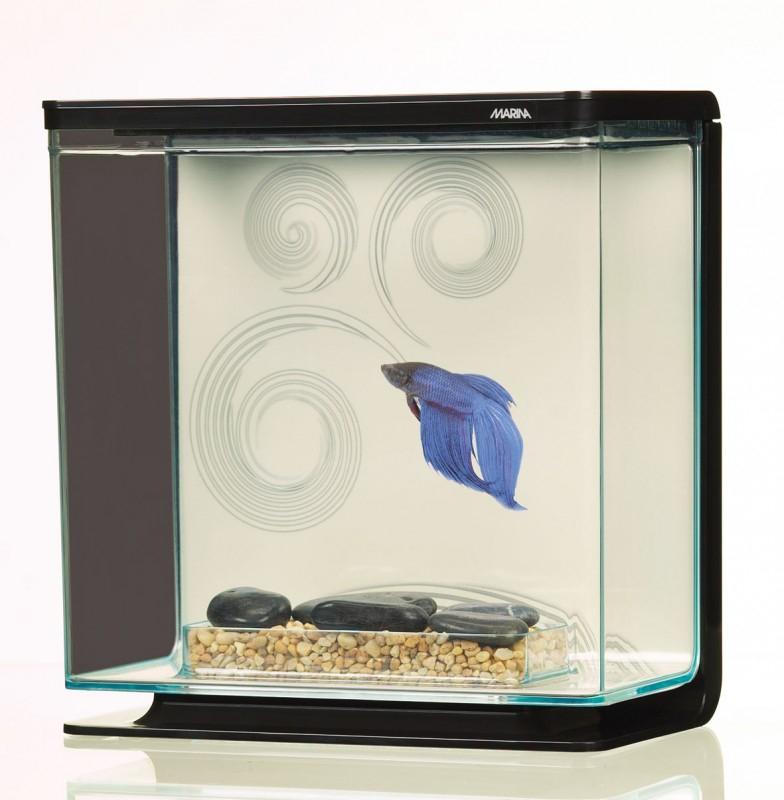 Aquarium betta kit 3l aquarium et meuble for Betta fish tank kit
