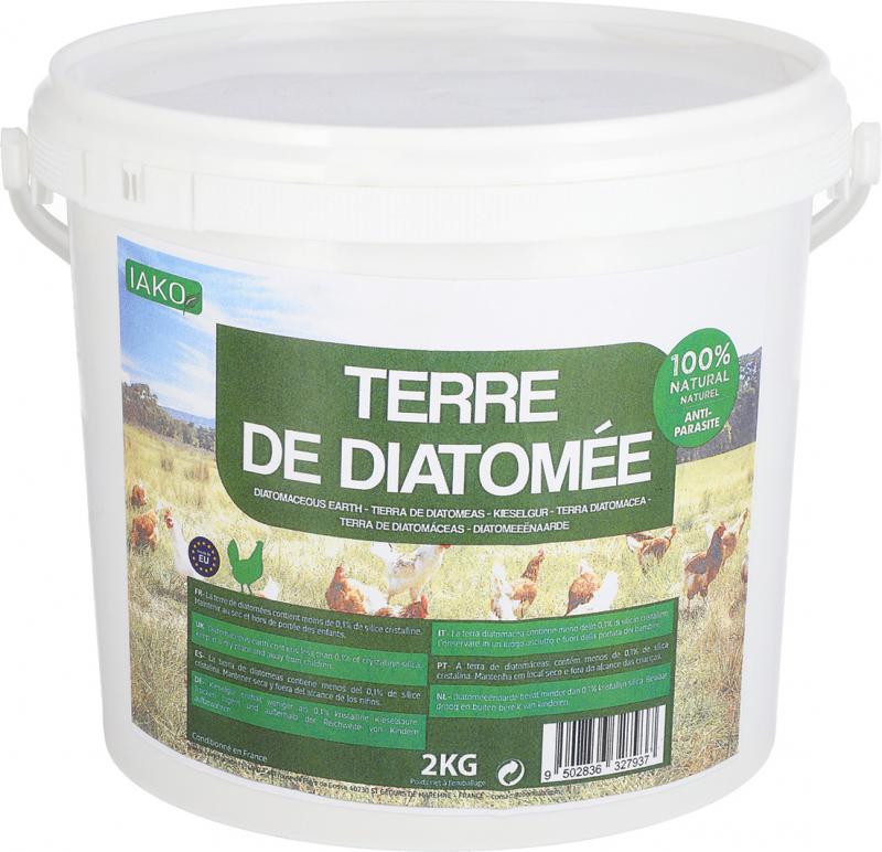 IAKO Terra de Diatomácea - 2 et 5 kg