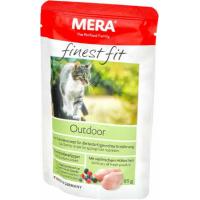 Pâtée MERA Finest Fit à la volaille pour chat d'extérieur