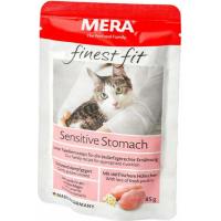 Pâtée MERA Finest Fit à la volaille pour chat avec problèmes de digestion