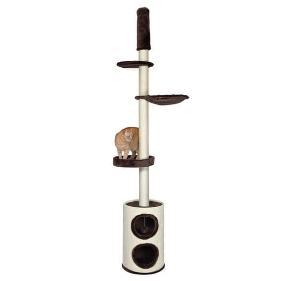 arbre chats linea du sol au plafond arbre chat. Black Bedroom Furniture Sets. Home Design Ideas