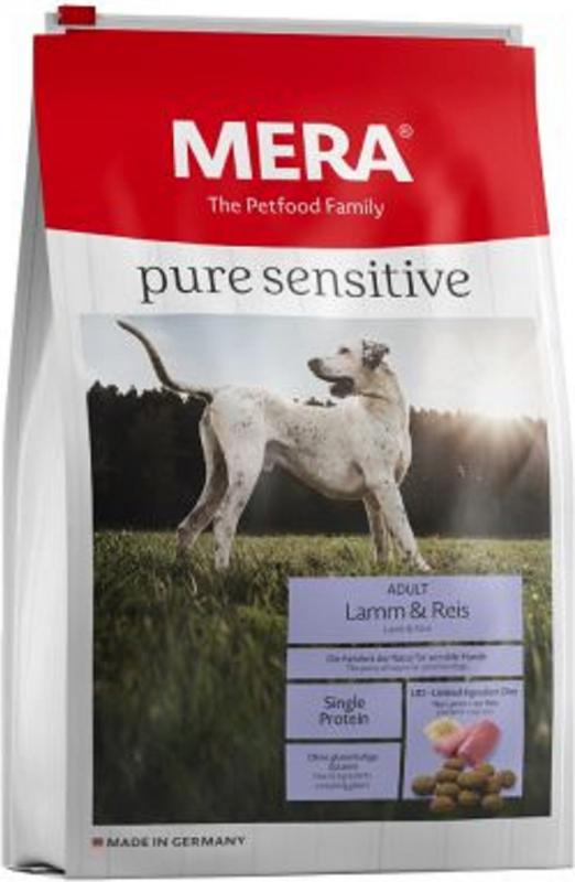 MERA Pure Sensitive à l'agneau et riz pour chien adulte de moyenne et grande taille